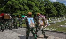 In Picture: Pemakaman Pelda Anumerta Rama Wahyudi