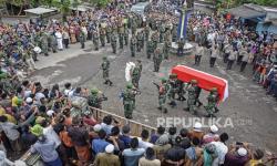 Prajurit Kostrad Korban KSB Dimakamkan di Lombok Tengah