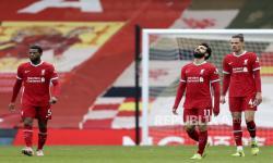 In Picture: Babak Pertama, Fulham Unggul 1-0 Atas Tuan Rumah Liverpool