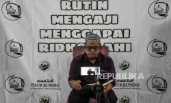 In Picture: Tausiyah Ramadhan Secara Online Komunitas Ojol