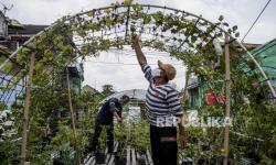 In Picture:  Agrowisata <em>Urban Farming</em> di Bandung (1)