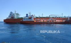 Loading Perdana di AS, VLGC Pertamina Kibarkan Merah Putih