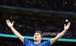 Gelandang serang timnas Italia dan Juventus, Federico Chiesa.