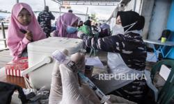 In Picture: Serbuan Vaksin Covid-19 di Tarakan