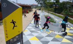 Taman di Kota Bandung Sudah Bisa Akses Warga
