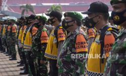 In Picture: Apel Kompi <em>Tracer dan Vaksinator </em>Covid-19 di Palembang