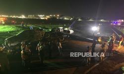 In Picture: Pesawat Carter Filipina Meledak Saat TInggal Landas
