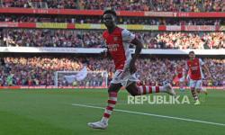 Bukayo Saka Cedera Saat Arsenal Vs Crystal Palace