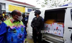 Wali Kota Sorong Tinjau Dua Pos Pengawasan Larangan Mudik