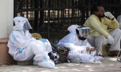 Krisis Oksigen, RS India Kelimpungan Hadapi Pasien Covid-19