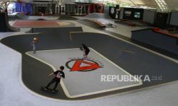 In Picture: Arena Skateboard  Bertaraf Internasional di Malang