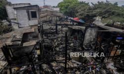 Polisi Jelaskan Penyebab Kebakaran di Petamburan