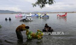 Wisata Teluk Lampung Ramai Pengunjung Jelang Ramadhan