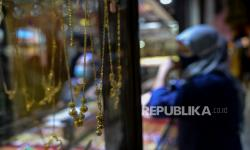 In Picture: Tren Jual Emas Meningkat 20 Persen Pada Masa PPKM