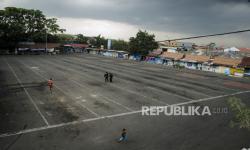 In Picture: Masa Larangan Mudik, Terminal Cicaheum Berhenti Beroperasi