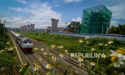 In Picture: Proyek Kereta Cepat Jakarta Bandung terus Dikebut
