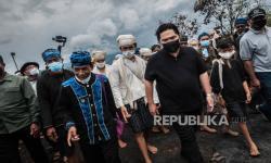 In Picture: Bantuan BUMN bagi Korban Kebakaran di Kampung Baduy