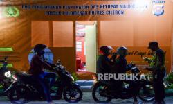 In Picture: Pos Penyekatan Pemudik di Banten