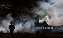 Ribuan Warga Palestina Unjuk Rasa di Nablus