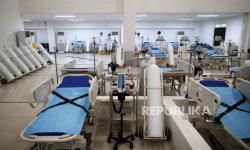 Ada 335 Pasien Dirawat di RS Darurat Wisma Atlet