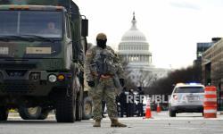 Jelang Pelantikan Biden, Washington Jadi Benteng Bersenjata