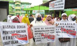Ormas Islam Sumut Gelar Aksi Tolak RUU HIP