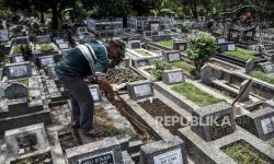 Jumlah Peziarah ke TPU di Kota Bandung Turun Drastis