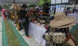 Polres Sukabumi Bantu Promosi Produk UMKM Karya Putra Daerah