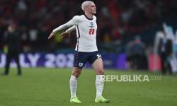 Pemain Inggris Phil Foden.