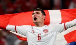 Penggawa Denmark di Euro 2020 Andreas Christensen.