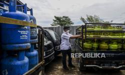 Polisi Amankan Pria Pengoplos Gas 12 Kilogram di Bogor