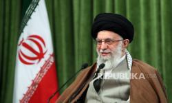 Pemimpin Tertinggi Iran Sebut Israel Tempat Teroris