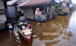 Disdik Banjarmasin Data Kerusakan Puluhan SD karena Banjir