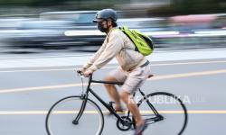 Dinkes: Tetap Taati Protokol Kesehatan Saat Bersepeda
