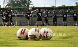 In Picture: Jelang Liga 1, PSM Makassar Genjot Latihan
