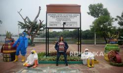 Kelurahan Sunter Jaya Tutup Kawasan Danau Sunter
