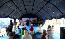 In Picture: Pertunjukan untuk Menghibur Pengungsi Gunung Merapi