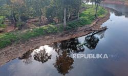 In Picture: Kanal Kuno Kawasan Percandian Muarojambi