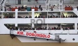 Satu Penumpang KM Dobonsolo Jatuh ke Laut Buano