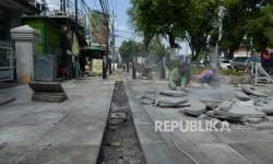 Lelang Revitalisasi Trotoar Sudirman Yogyakarta pada Juni