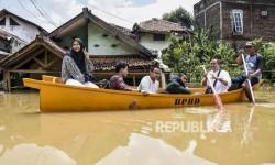 Tujuh Kecamatan di Kabupaten Bandung Terendam Banjir