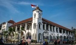 Semarang Tutup Akses ke Simpang Lima