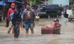 Banjir Kembali Rendam Ribuan Rumah Warga di Cirebon