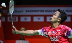 Anthony Sinisuka Ginting Lewat Adangan Pertama Thailand Open