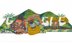 Google Search Hadirkan Gambar Doodle Tas Noken Khas Papua