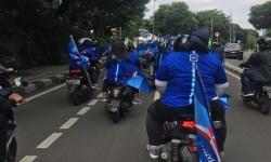 Konvoi ke Kemenkumham, Massa Demokrat: Lawan Moeldoko