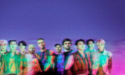 Reuni di New York, BTS Hadiahi Coldplay Hanbok Modern