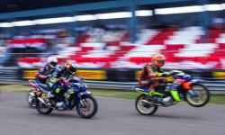In Picture: 192 Pembalap Ikuti Ajang Kejurnas Motoprix 2021 di Muba