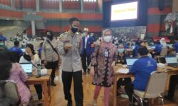 Ribuan Pelajar SMA Ikuti Vaksinasi Covid-19