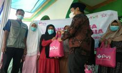 PYI Yatim & Zakat Salurkan Sembako dan Wakaf Alquran